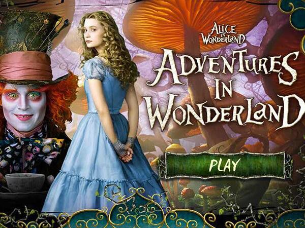 Adventures In Wonderland Game