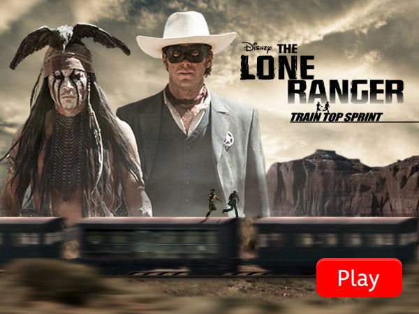 The Lone Ranger - Train Top Sprint