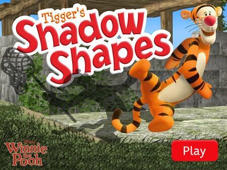 Tigger's Shadow Shapes