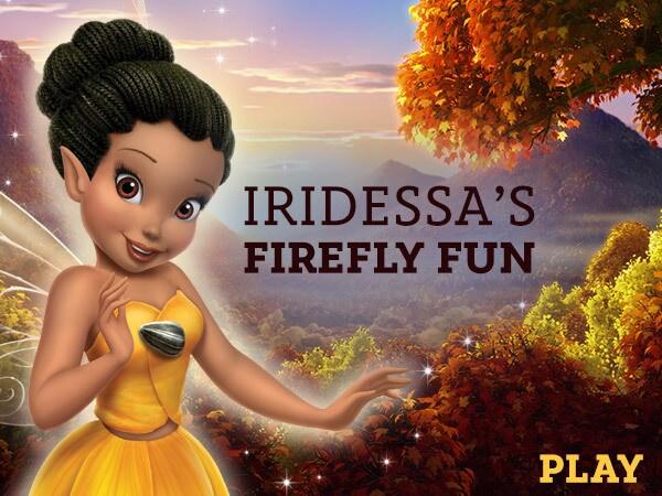Iridessa's Firefly Fun