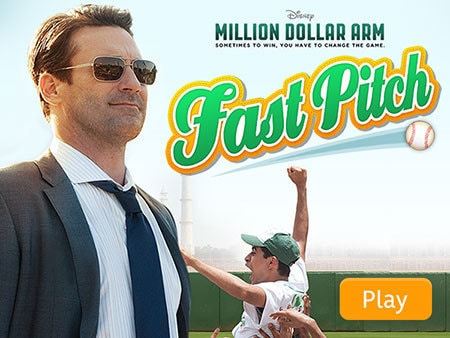 Million Dollar Arm: Fast Pitch
