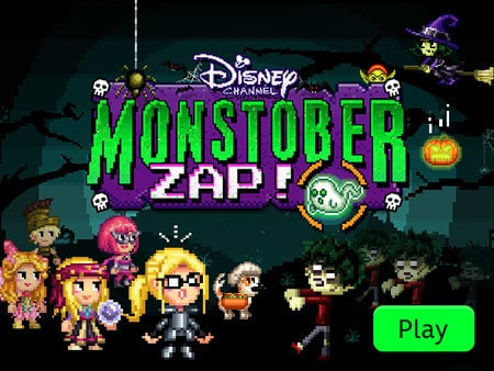 Disney Channel Monstober Zap Disney Lol