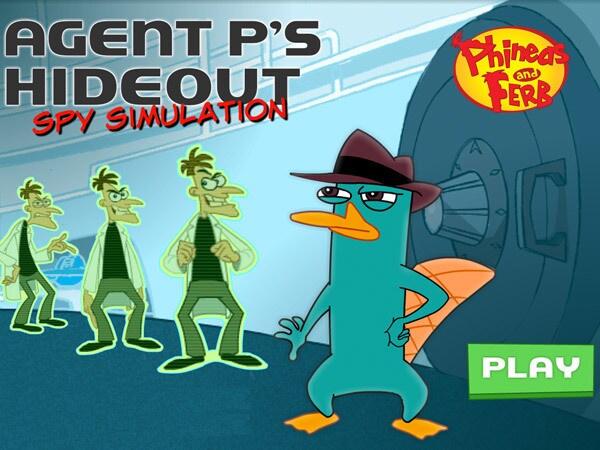 Agent P's Hideout