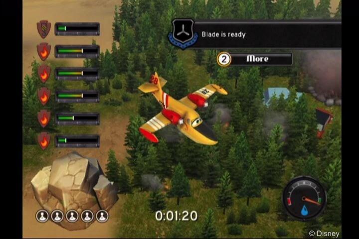 Disney Planes: Fire & Rescue Wii Gallery