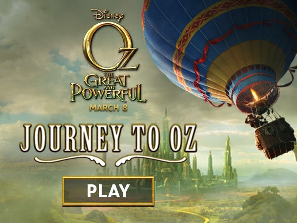 Oz The Great and Powerful: Journey to Oz