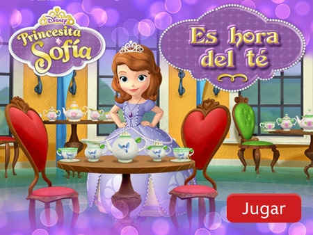 Princesita Sofía Es Hora Del Té Disney Lol