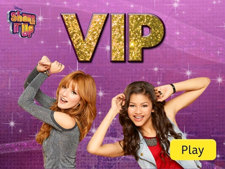 Shake It Up VIP Quiz  Disney Games