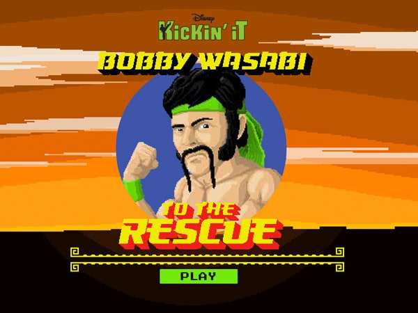 Kickin' It - Bobby Wasabi to the Rescue