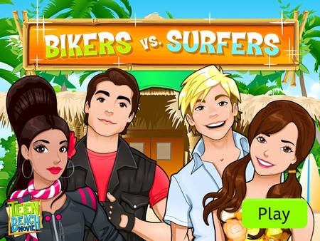 Bikers vs. Surfers