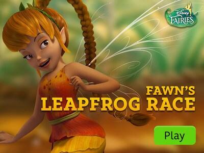 Disney Fairies Fawn 39 s Leap Frog Race Disney LOL