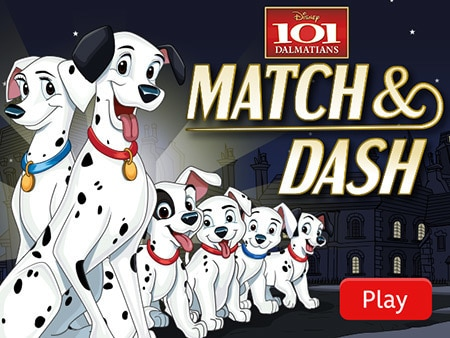 101 Dalmatians: Match and Dash