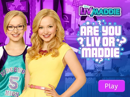 Liv and Maddie - Are You Liv or Maddie?