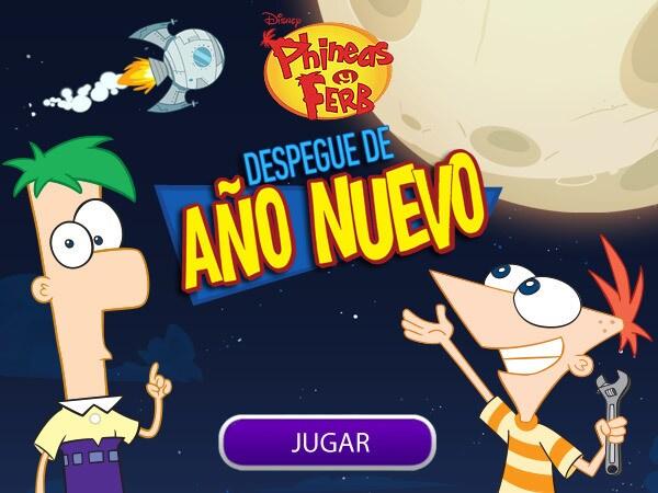 Phineas y Ferb - Despegue de año nuevo