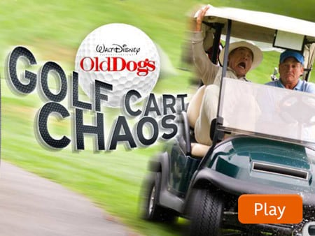 Old Dogs Golf Cart Chaos