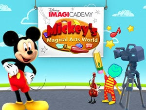 Mickey's Magical Arts World Gallery