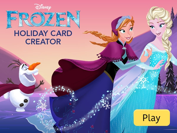 Frozen Games Activities