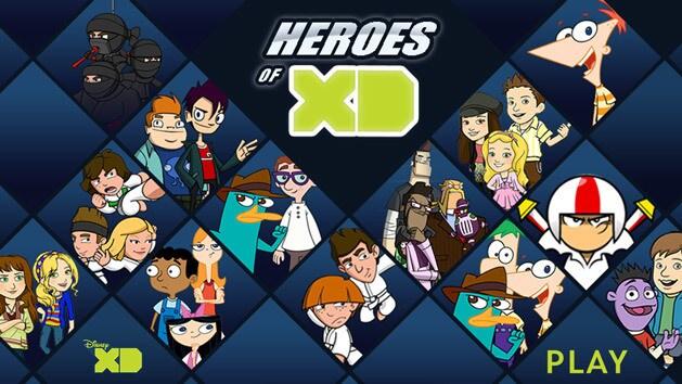 Disney Xd Heroes Of Xd Disney Lol