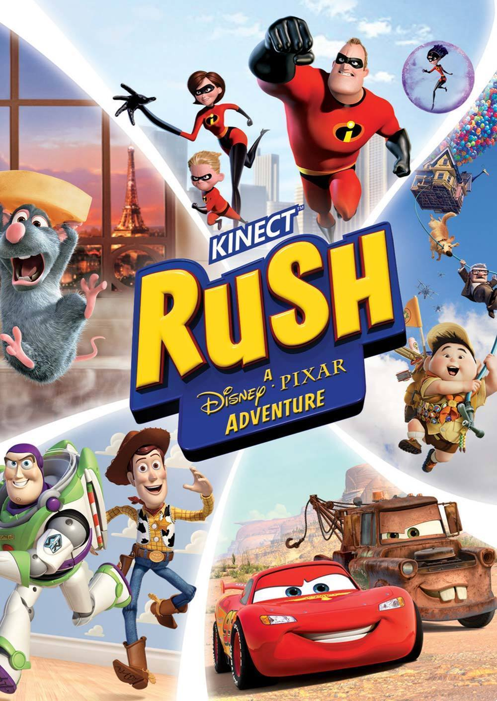 Kinect Rush: A Disney•Pixar Adventure