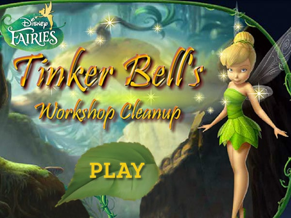 Tink's Workshop Clean Up