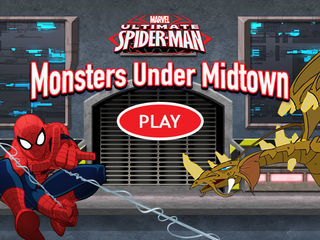 Ultimate Spider Man Monsters Under Midtown