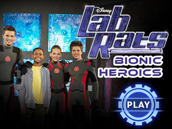 Lab Rats - Bionic Heroics