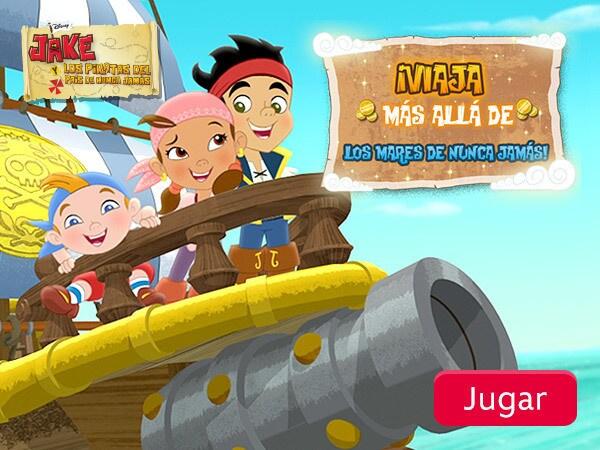 Jake y los piratas del país de Nunca Jamás - ¡Viaja más allá de los mares de Nunca Jamás!