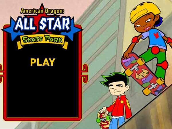 American Dragon: Jake Long - All Star Skate Park