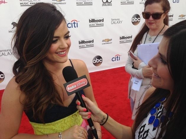Lucy Hale at the Billboard Music Awards