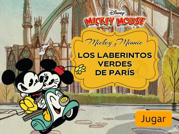 Mickey Mouse - Los laberintos verdes de París