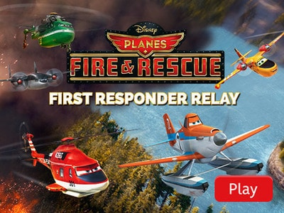 Planes Fire & Rescue: First Responder Relay