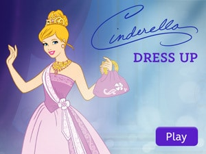 Disney Princess: Cinderella Dress Up App