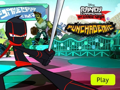 Randy Cunningham - Punchademic