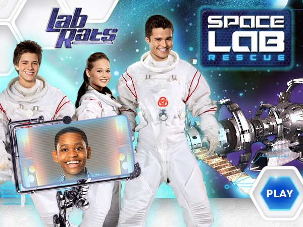 Lab Rats Space Lab Rescue Disney LOL