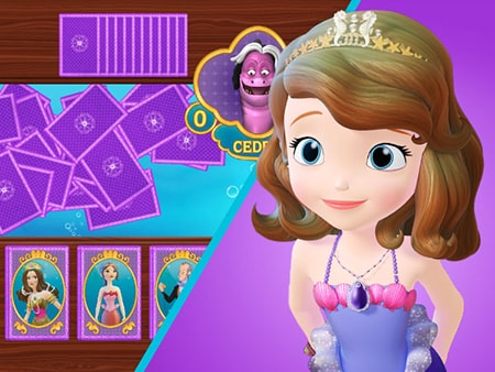 Sofia the First - Sofia's Card Catch