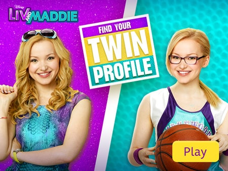 Liv And Maddie Find Your Twin Profile Disney Lol