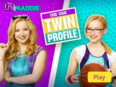 Liv and Maddie - Find Your Twin Profile