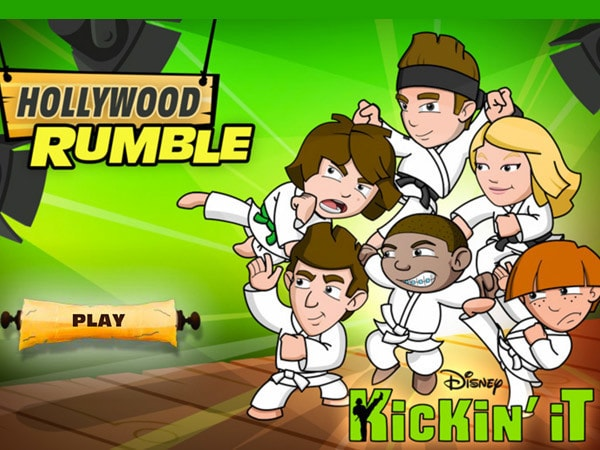 Kickin' It - Hollywood Rumble