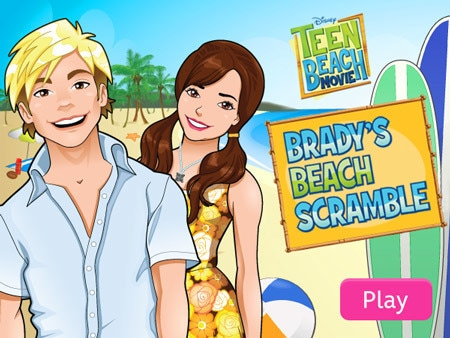 Teen Beach Movie - Brady's Beach Scramble