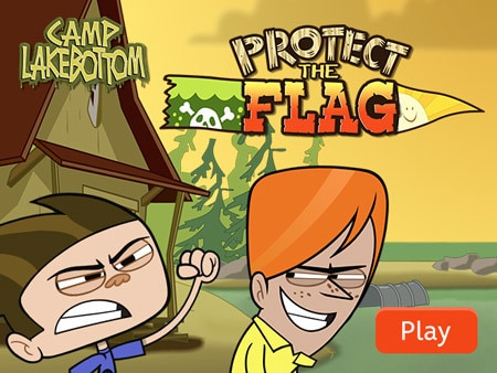 Camp Lakebottom: Protect the Flag