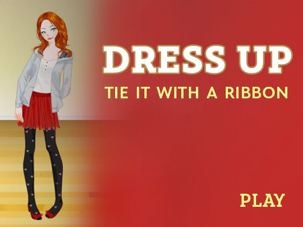Dress Up: Tie It With A Ribbon