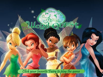 Disney Fairies: Word Quest