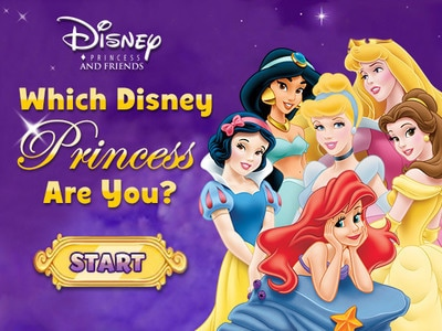 Disney Princess: Which Disney Princess Are You?
