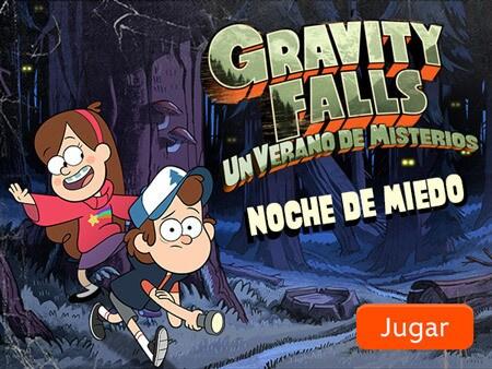 Gravity Falls Noche De Miedo Disney Lol