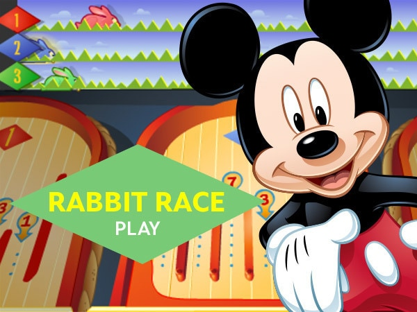 Mickey & Friends' Rabbit Race