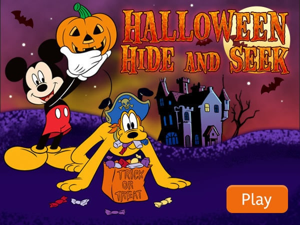 Mickey and Friends: Halloween Hide n' Seek