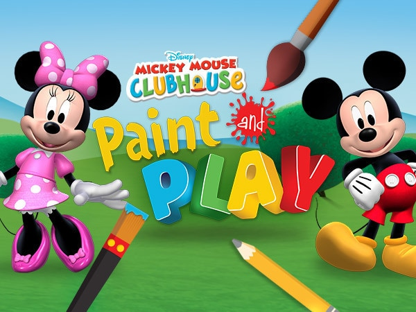 Mickey's Paint and Play Gallery