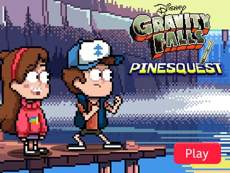 Gravity Falls - PinesQuest