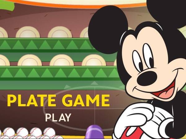 Mickey & Friends' Plate Game