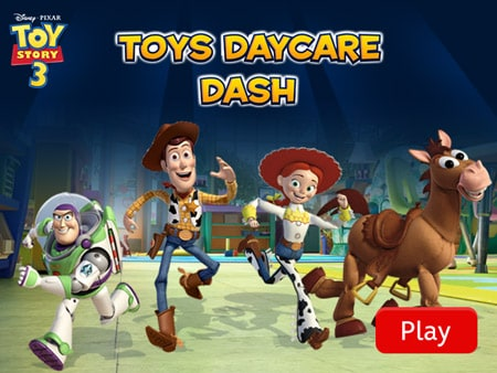Toy Story Games Gratis : Toy story 3 day care dash disney lol