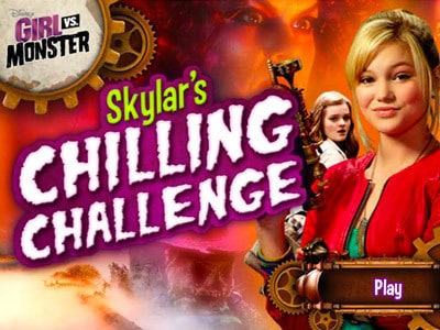Girl vs. Monster: Skylar's Chilling Challenge